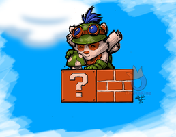 Super Teemo Surprise by sykoeent