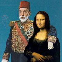 mona lisa and mehmed resad by goofaster