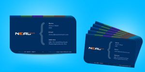 Business Card design Neal by prkdeviant