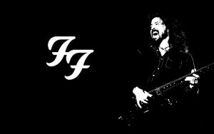 Black n White Grohl by W00den-Sp00n