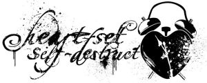 Heart-Set Self-Destruct Logo by ABeautifulTragedy