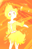 more Flame princess by SplicedLamia