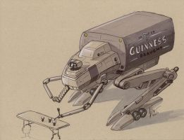 Guinness Mecha by Jepray
