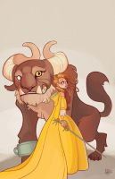 Beauty and the Beast by MeoMai