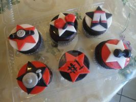 Boxing cupcakes by PnJLover