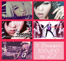 Minzy I'm the best banners by orange-tree-house