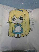 Cushion made for my niece by Nenetchy