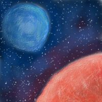 Planets of cotton by JonnyCupCake