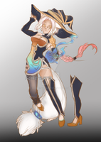 Light Witch adoptable [offer to adopt] by Koike-sama