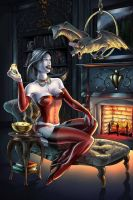 Mistress of the Dark Hours by kyle-roberts
