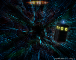 dr Who TARDIS wallpaper by sergbel