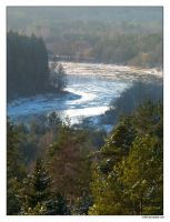 Freezing River by rici66