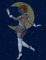Astronaut by the-punk-hippie