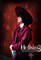 Alucard from Hellsing by UlyKompean