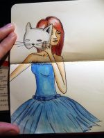 The Cat's Dancing Dress. by Arwey