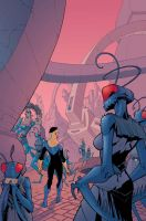 Issue 26 Invincible cover by RyanOttley