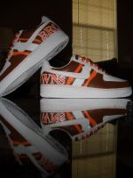 Custom Cleveland Browns AF1's by nughed10