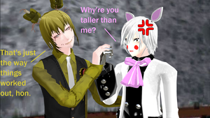 [MMD] Another Height Analysis by ZexionStrife