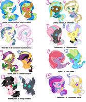 Random Ships adoptables ::CLOSED:: by tiffanykip