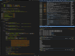 ArchLinux and Awesome2 at Work by nustyle