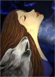 Woman of Wolves by KRSdeviations