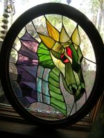 Glass Dragon Side 2 by LCheek