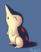 Day 3 | Favorite Starter | Cyndaquil by garrchomped