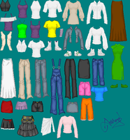 Bases - Female Clothes by Ameyal