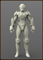 Concept robot (WIP) by VladimirAranovich