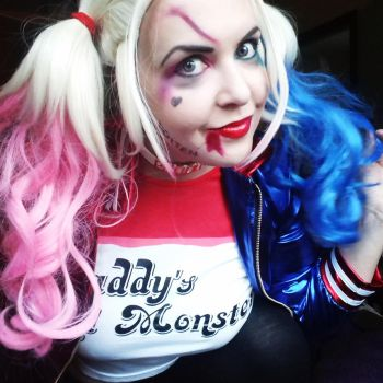 Battle Harley Quinn Suicide Squad Cosplay by HarleyQuinnAddict