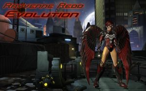 Rayvenne Redd: Evolution by Q-jii