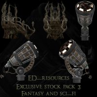 Exclusive Stock Pack 3 by ED-resources