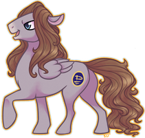 David Gilmour Pony by Chat-Noire