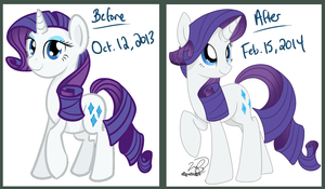 Improvement Meme - Rarity by Silky-Cotton
