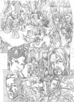 Worlds of Dungeons and Dragons #4, page 2 pencils by JSA