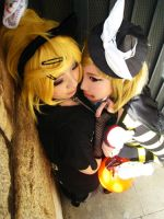 Kagamine halloween day horror by C2ndy2c1d