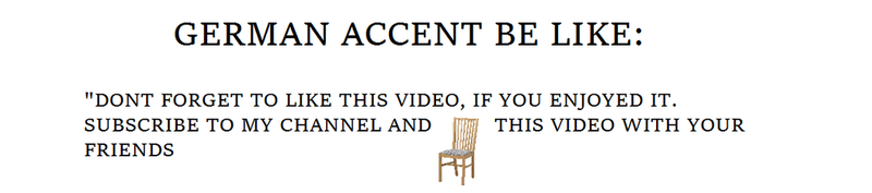 German accent be like by Bag-of-Skulls