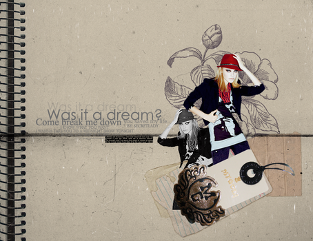 PSD - Was it a dream ? by s3cretlady
