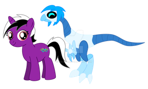 MLP Alice and Replay by Xelku9