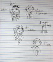 Bored in Sociology by ScarletSouth