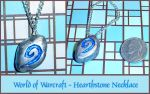 Warcraft Hearthstone Necklace by YellerCrakka
