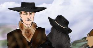 Rattlesnake Jake claims Butch Cavendish by Selinelle