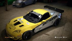 Need for Speed - Corvette Z06 Touring Car Top by MangaTuner2009