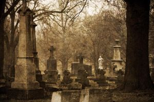 Cemetery Fog by Katy-Beth