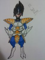 Vegeta the Bisharp by BrandiTheBisharp