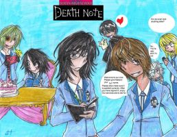 Oruan High School Death Note by Ashlee-Suki-Corner