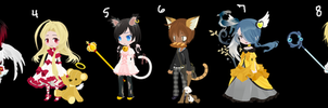 Human Draw To Adopts (CLOSED) by WindyAdopts