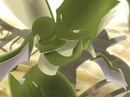 Pokemon Scyther Silvestre by Sorocabano