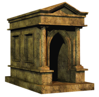 Crypt PNG Stock by Roys-Art