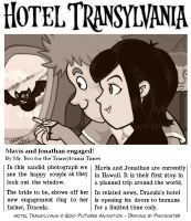 Hotel Transylvania News Clipping by Pikminister